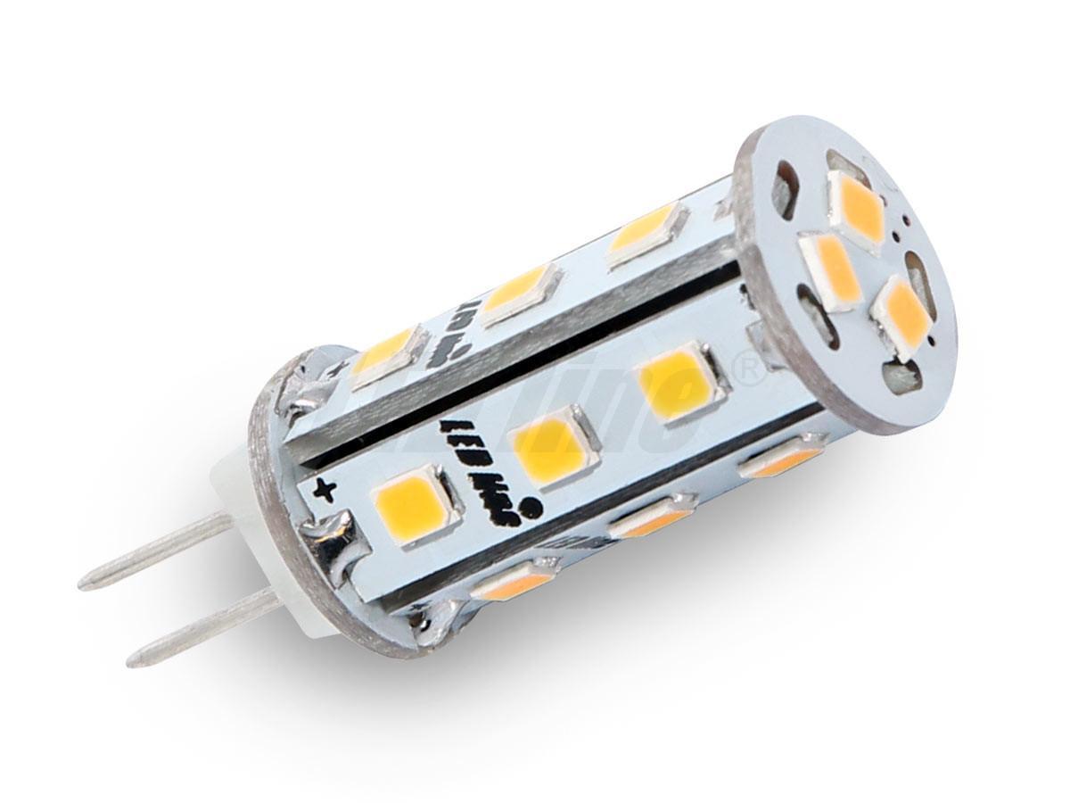 Led line LED žárovka 3W 18xSMD G4 295lm corn TEPLÁ BÍLÁ 12V DC